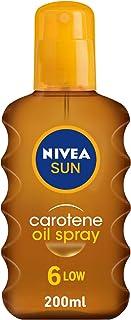 NIVEA, Sun Spray, Carotene Oil, SPF6, 200ml
