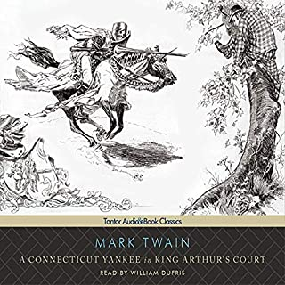 A Connecticut Yankee in King Arthur's Court audiobook cover art