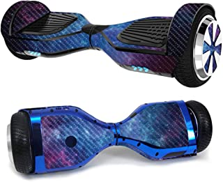 MightySkins Carbon Fiber Skin for Ultra Hoverboard - Nebula | Protective, Durable Textured Carbon Fiber Finish | Easy to A...