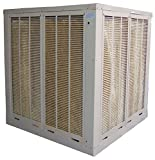 16000 cfm Ducted Evaporative Cooler, 2 hp, 38 gal.