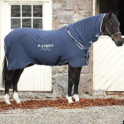 Horseware Rambo Dry Rug - Navy/Silver