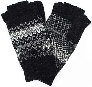Accessory Necessary LL- Fingerless Flipover Wool Blend Womens Kids Mitten Winter Gloves Many Styles