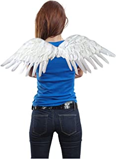 Large Feather Angel Fairy Wings for Halloween Costume Party in 3 Colors Red White Black