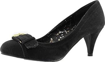 Qupid Women's Orsen-239 High Heel Round Toe Pumps Fashion Shoes