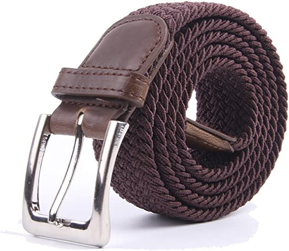 Gelante-Canvas-Elastic-Fabric,-Woven-Stretch-Multicolored-Braided-Belts
