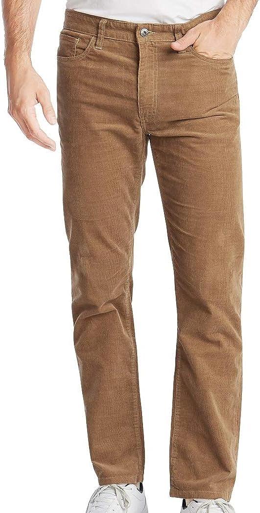 Nautica Men's Straight Leg Corduroy Pant