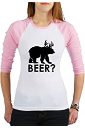 Medium Light Pink Truly Teague Jr Spaghetti Tank Deer Plus Bear Equals Beer!