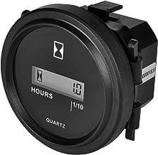 Quartz SH-1 Sealed Hour Meter Gauge 6-80VAC//DC  USED