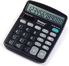 $30 » Office Supplies Calculator Calculator Solar Battery Dual Power Office Calculator 12-Digit Solar Battery Basic Calculator L...