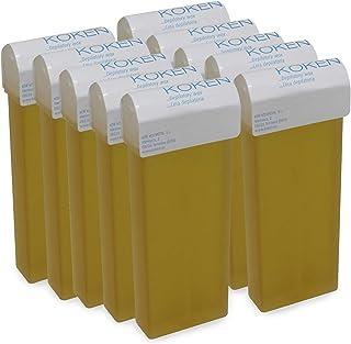 KOKEN - Cera Depilatoria Roll-on 100ml Universal - Pack 10