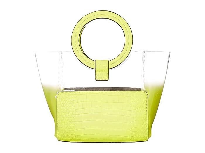 Vince Camuto  Clea Small Tote (Neon Yellow) Handbags
