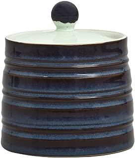 Denby USA Peveril Covered Sugar Bowl, Blue