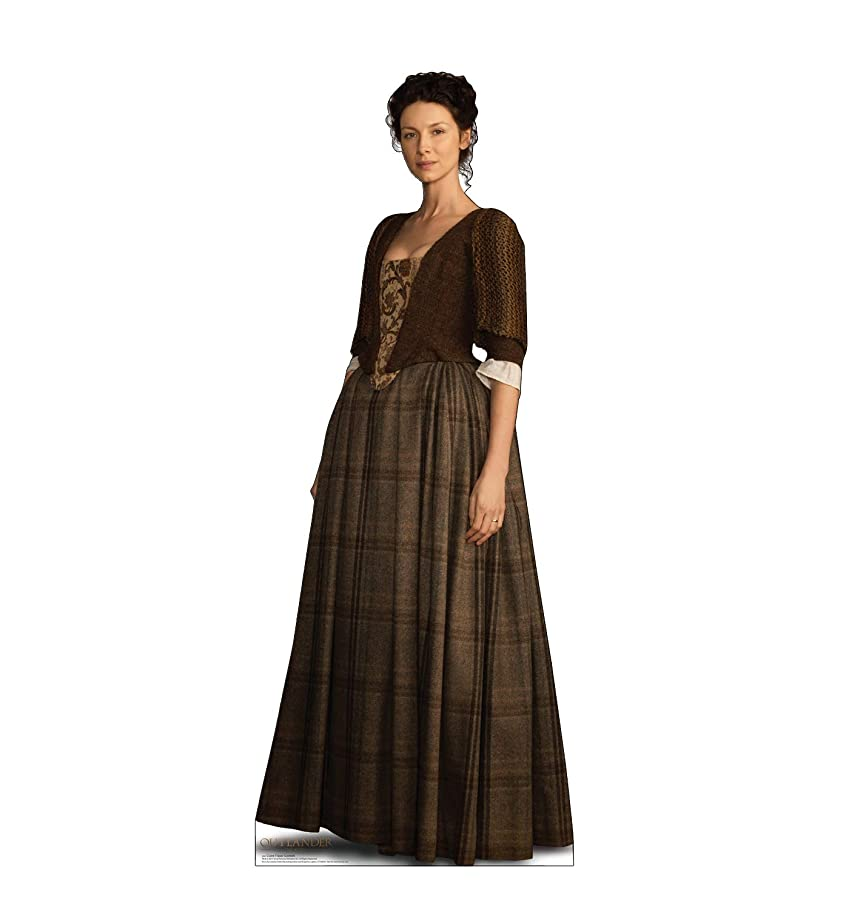 Advanced Graphics Claire Fraser Life Size Cardboard Cutout Standup - Scottish Version - Starz Outlander