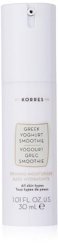 Korres Greek Yoghurt Smoothie Priming Moisturizer for Women, 1.01 Ounce