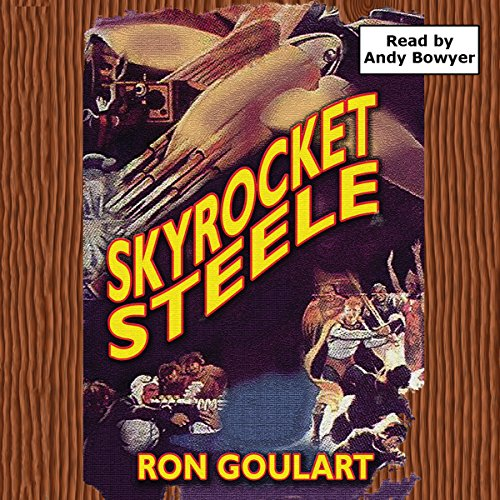 Skyrocket Steele audiobook cover art