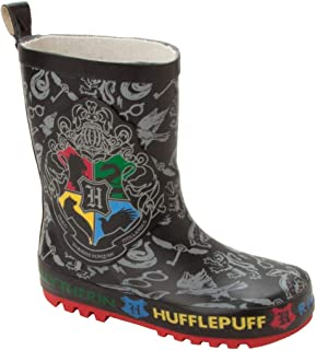 Boys Harry Potter Hogwarts Wellies RAIN Boots Wellys