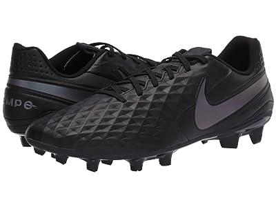 Nike Legend 8 Academy FG/MG (Black/Black) Cleated Shoes