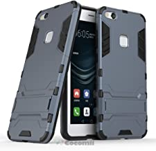 Cocomii Iron Man Armor Huawei P10 lite/Nova Youth Case New [Heavy Duty] Premium Tactical Grip Kickstand Shockproof Bumper [Military Defender] Full Body Rugged Cover for Huawei P10 lite (I.Black)