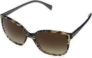 4e9b086b28 Prada 0PR01OS CO56S1 55 Gafas de sol, Azul (Havana/Ears Avio Blue/