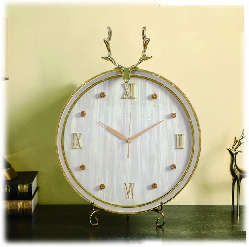 Simple cute alarm clock Table livi Max 62% OFF Clock Decorative Sale Special Price