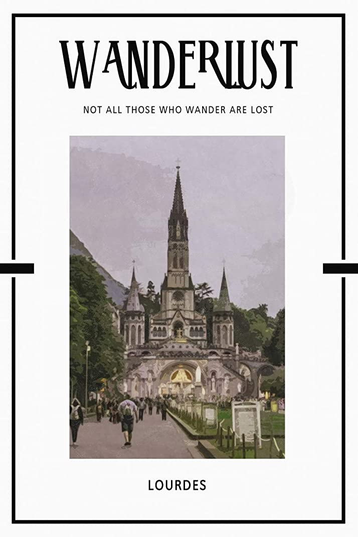 潮狂信者酸度Lourdes: Trip Visit Souvenirs 2020 Planner Calendar Organizer Daily Weekly Monthly