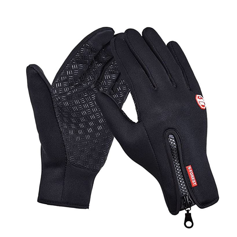 Winter Touch Screen Windproof Thermal Gloves for Men Women Camping Cycling Outdoor
