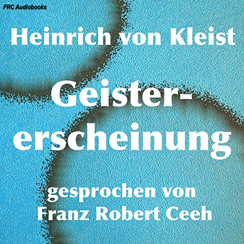 Geistererscheinung audiobook cover art