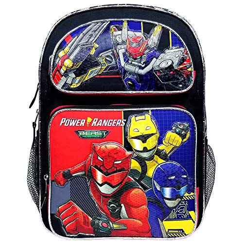 Accessories Innovation Power Morphers Rangers Beast Large Backpack #PR43684, Multicolor, 16'
