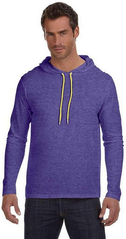 Anvil Lightweight Long-Sleeve 987AN Be Choice super welcome Hooded T-Shirt