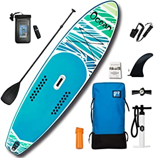 Feather lite Inflatable Stand Up Paddle Board(10'6