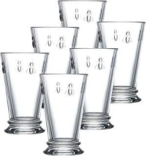 La Rochere Set Of 6, 11.5-ounce Napoleon Bee Double Old Fashioned Glasses