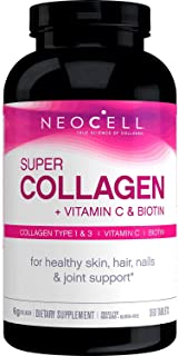 NeoCell Super Collagen +C with Biotin, 360 ct. (Pack of 2)