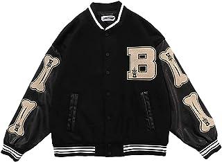 IFIKK męska kurtka College Baseball, kurtka sportowa, baseballowa Classics, unisex Mode Streetwear