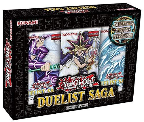 Yu-Gi-Oh! Duelist Saga Box mit 3 Booster - Deutsch