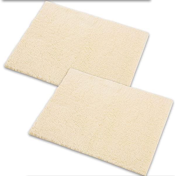 Set 2 Sheepette Bed Pad Sensitive Skin Helps Prevent Sores Machine Wash