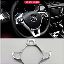 Yp ABS Cubierta de Volante Interior cromada para VW Passat B8 2016-2018