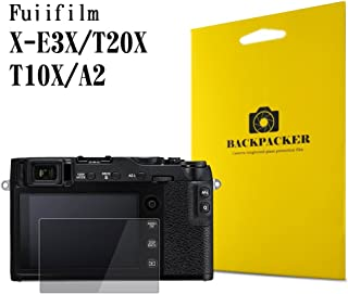 【BACKPACKER】 カメラ液晶保護ガラス 液晶プロテクター 0.33mm強化ガラス 9H硬度 高鮮明 (FUJIFILM X-E3 / X-T20 / X-T10 / X-A2用)