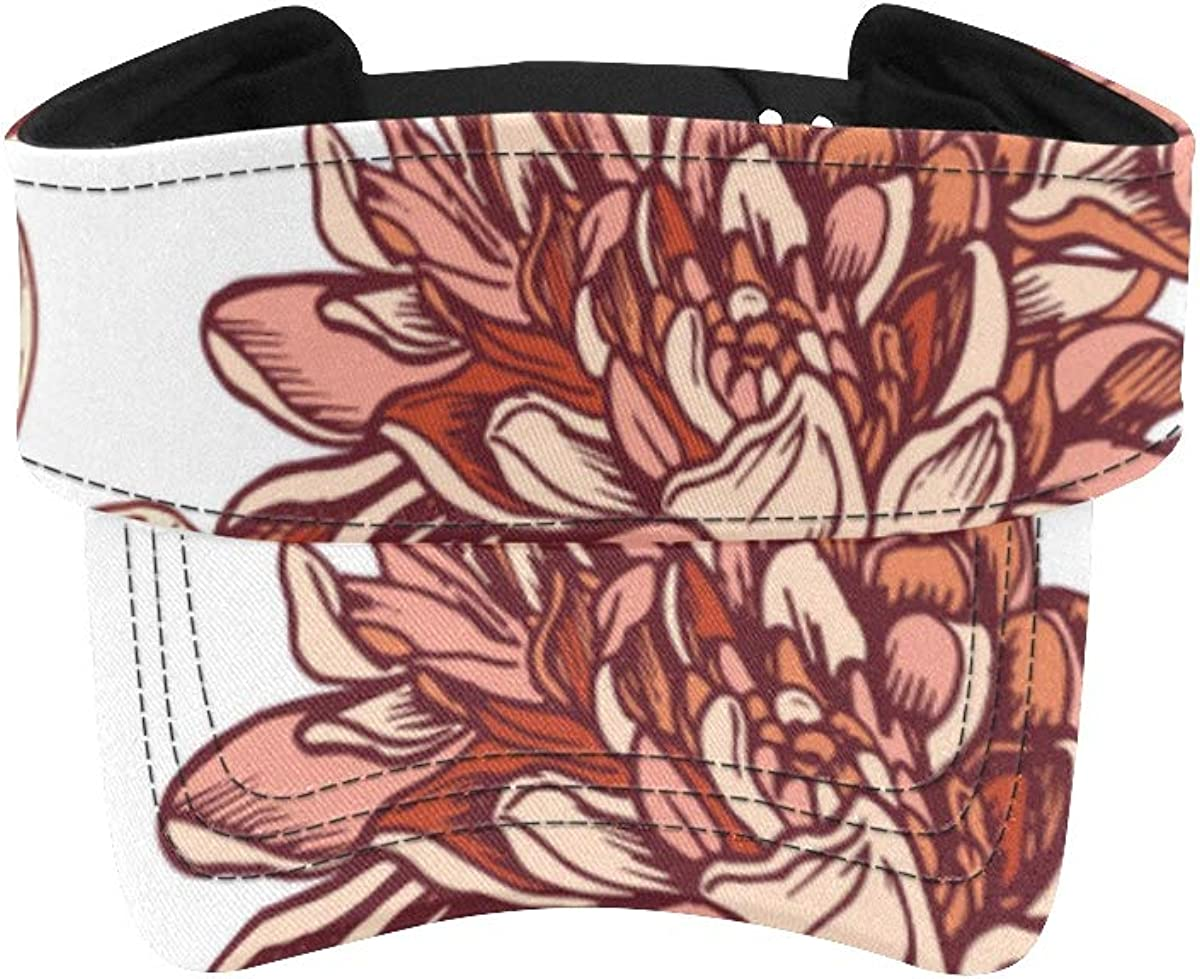 Max 79% OFF Visor Department store Hats for Women Cap Chrysanthemum Different Beautiful