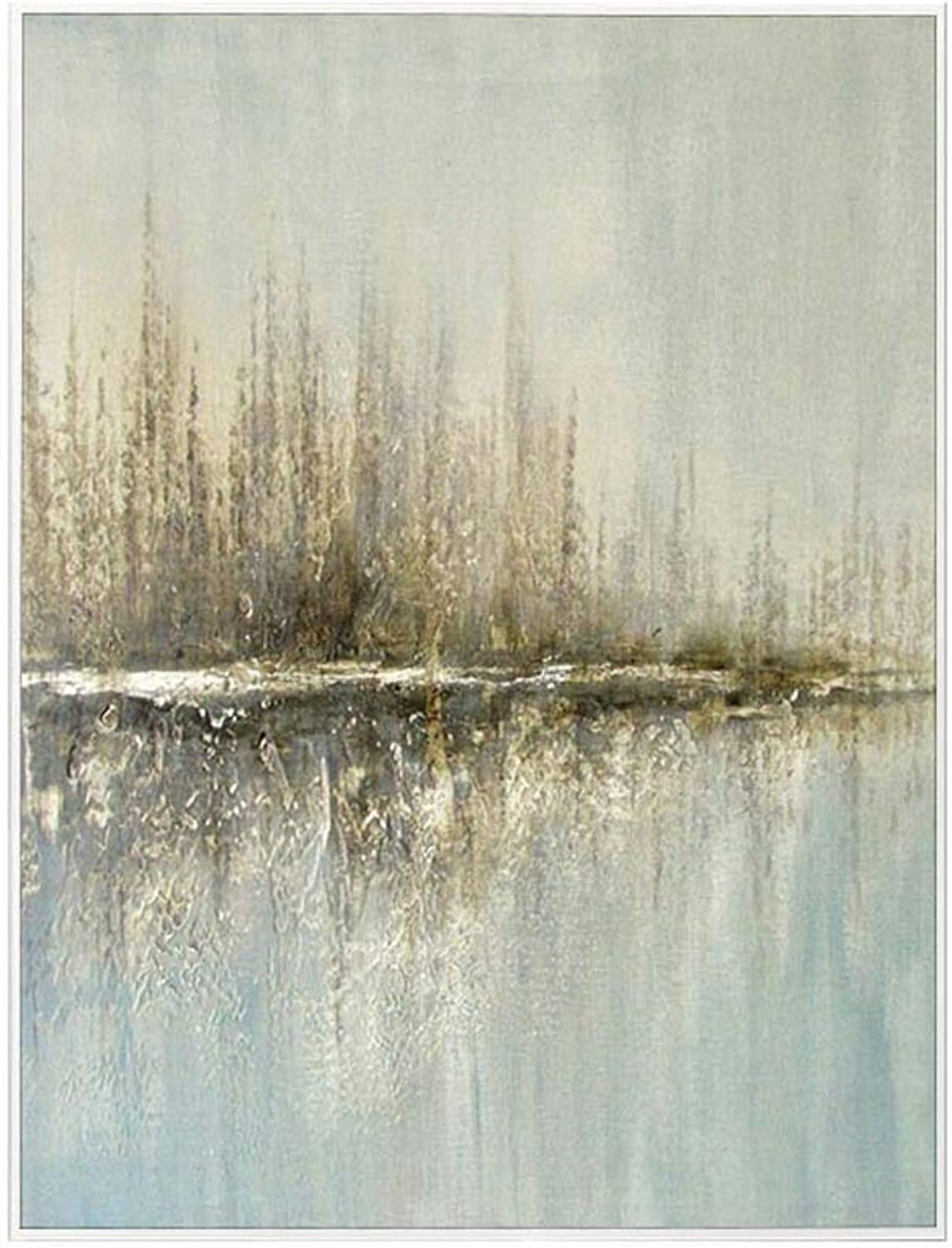 WENJUN Oil Painting Hand Painted Hand Painted Oil Painting On Canvas Modern Canvas Wall Art Print Pictures Home Decor For Home Wall Decor,5 colors,4 Sizes ( color   White , Size   6080cm )