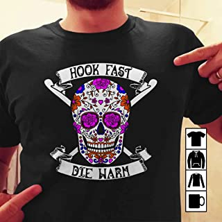 Crochet Hook Fast Die Warm Crochet Sew Stitch T Shirt Long Sleeve Sweatshirt Hoodie Youth