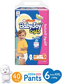 Babyjoy MP Culotte Unisex Size 6 Junior XXL (16+ kg) 40 diapers 45451
