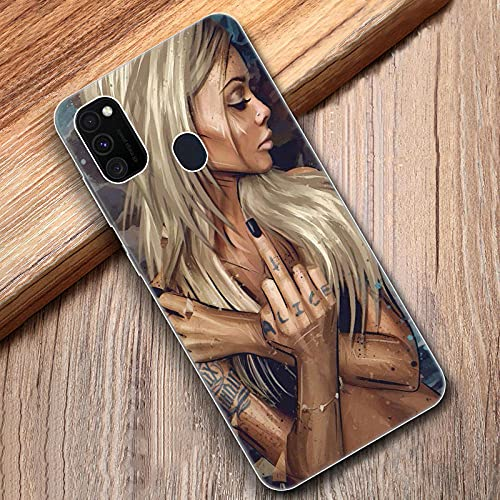 Funda blanda para Samsung Galaxy M11 M10S M01 M21 M31S M51 A01 J2 Core A21 A42 J6 A6 A8 Plus A7 2018