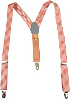 boys orange suspenders