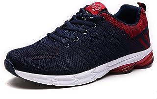 comprar comparacion ZapatillasRunningpara Hombre Aire Libre y Deporte Transpirables Casual Zapatos Gimnasio Correr Sneakers Verde 39-45