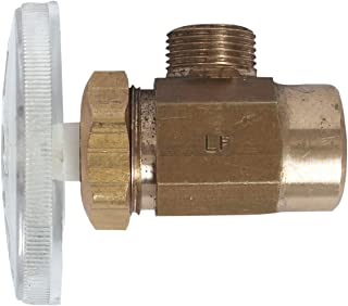 Keeney Manufacturing K2780RBLFX Lead Free Multi Turn Angle Valve with 1/2