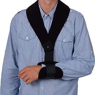 Active Arm Supports NuSling Comfort/Ergonomic Shoulder Sling & Immobilizer/Shoulder Support Brace for Men or Women/Breathable Arm Support Brace for Pain, Shoulder Injury, Post Surgery Recovery
