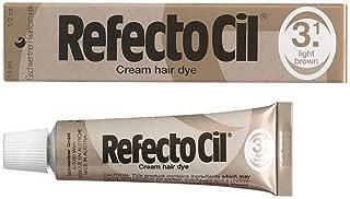 Refectocil #3.1 - Light Brown Cream Hair Dye - Size 0.5oz/15ml