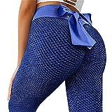 CPNG Yoga-Hose,Sporthose Frauen Workout Leggings Fitness Sport Laufen Yoga Athletic Pants (Blue,L)
