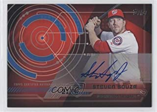 Steven Souza Jr. Steven Souza Jr. (Baseball Card) 2014 Topps - Trajectory Autographs #TA-SS
