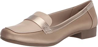 حذاء نسائي Vittorio Loafer، ذهبي معدني، مقاس 6 US
